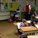 Students in a classroom. (Photo from: FOX 11/YouTube).