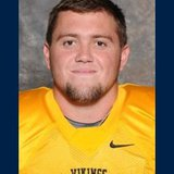 Augustana K Lucas Wainman. Photo courtesy Augustana College sports information.