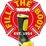 Fill the Boot logo for the annual MDA charity. Image used with permission from the MDA.