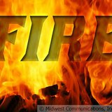 Fire Graphic (Photo Copyright Midwest Communications, Inc.)