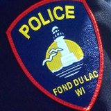 Fond du Lac Police Department uniform patch. (Photo from: FOX 11).