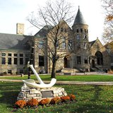 Hope College's Famed Anchor (photo Ralph Gutierrez Midwest Communications)