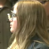 Morgan Geyser, 12, appears June 2, 2014, in Waukesha County court on stabbing charges. (Photo from: FOX 11/YouTube).