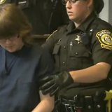 Anissa Weier, 12, appears June 2, 2014, in Waukesha County court on stabbing charges. (Photo from: FOX 11/YouTube).