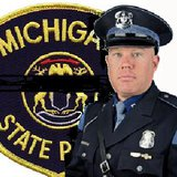 State Police Trooper Paul Butterfield.  (Photo supplied by Michigan State Police)