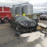 Car/semi crash 9-11-2014