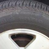 Firestone Car Tire Image © Midwest Communications, Inc. 2014.