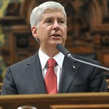 Governor Rick Snyder (courtesy of Michigan.gov).