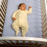 This is considered to be a safe sleeping environment for an infant. Image courtesy of the Safe to Sleep® campaign