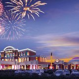 Rendering of the Menominee Nation's proposed casino in Kenosha. (Photo from: Hard Rock International).
