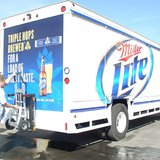 Miller Lite beverage truck equipped with an HTS-30D Direct Mount Ultra-Rack by MobiusDaXter (Own work) [CC-BY-SA-3.0 (http://creativecommons.org/licenses/by-sa/3.0) or GFDL (http://www.gnu.org/copyleft/fdl.html)], via Wikimedia Commons