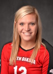 USD's Kendall Kritenbrink, image courtesy USD Sports Information