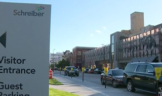 Schreiber Foods headquarters in downtown Green Bay. (Photo from: FOX 11/YouTube).