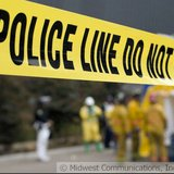 Police tape. Image © Midwest Communications, Inc. 2014.