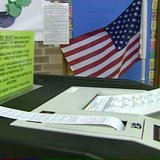 A ballot machine. (Photo from: FOX 11).