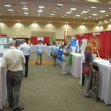 Job seekers meet with employers at the Central Wisconsin Career Expo in Stevens Point (Photo: Larry Lee - WSAU)