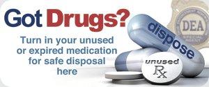 Drug Take Back logo Federal Drug Enforcement Agency