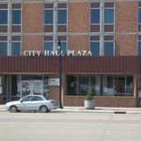 Marshfield City Hall Plaza Photo: Terry Pezl © Midwest Communications