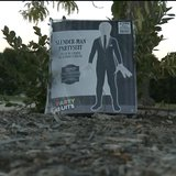 A photo of the Slender Man costume. (Photo from: FOX 11).