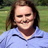 USF Women's Golfer Tavia Rutherford. Image courtesy USF Sports Information