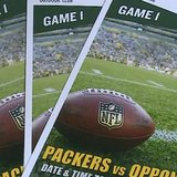 Green Bay Packers tickets (Photo from: FOX 11/YouTube).