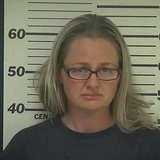 A mugshot of Heidi Mann (photo courtesy Taylor County Sheriff's Office)