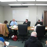 Wausau Transit Commission meeting.  Photo: Larry Lee © 2014 Midwest Communications