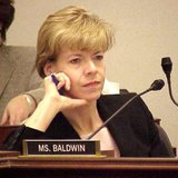 Senator Tammy Baldwin (D-WI) (US Government image, public domain)