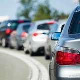 Traffic Jam Graphic (Photo Copyright Midwest Communications, Inc.)