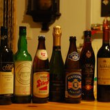 Alcoholic beverages by TrafficJan82 (Own work) [Public domain], via Wikimedia Commons