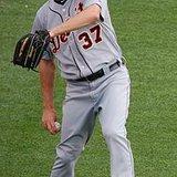 Tigers starting pitcher #37 Max Scherzer