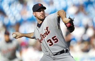Justin Verlander  (reuters photo credit Fred Thornhill)