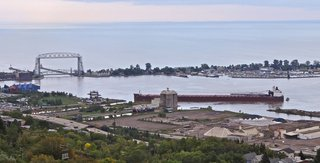 Laker runs aground in Duluth-Superior Harbor