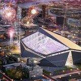 Proposed design of the new Minnesota Vikings Stadium (KFGO file image)
