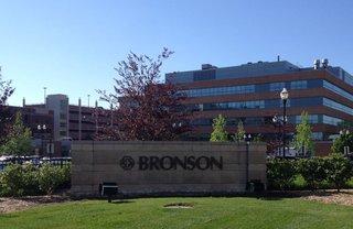 Bronson Hospital. Image © Midwest Communications, Inc. 2014.