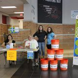 South Be the Match – (from left) Pachia Yang, Ann Vega-Raatz, Carlee Maas, and Lauren Vega register donors for the 'Be The Match' bone marrow registry.