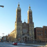 St Stanislaus Catholic Church in the Archdiocese of Milwaukee (By Sulfur at en.wikipedia [GFDL  www.gnu.org/copyleft/fdl.html] or CC-BY-SA-3.0 (http://creativecommons.org/licenses/by-sa/3.0/)], from Wikimedia Commons)