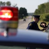 Michigan State Police Traffic Stop (Courtesy  Michigan State Police)