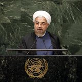 ranian President Hassan Rouhani addresses the 69th United Nations General Assembly at United Nations Headquarters in New York, September 25, 2014. CREDIT: REUTERS/MIKE SEGAR