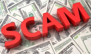 Scam. Image © Midwest Communications, Inc. 2014.