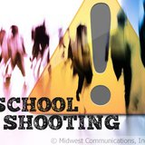 School Shooting Graphic (Photo Copyright Midwest Communications, Inc.).