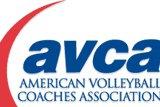 American Volleyball Coaches Association. Logo Courtesy: AVCA