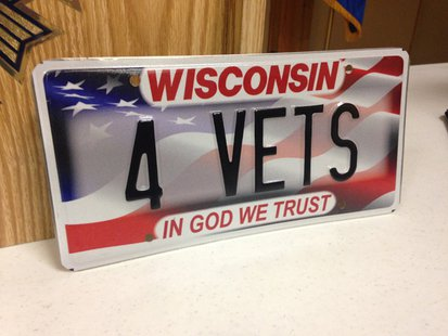 Wisconsin dmv offering special veterans drivers licenses for Department of motor vehicles stevens point wisconsin