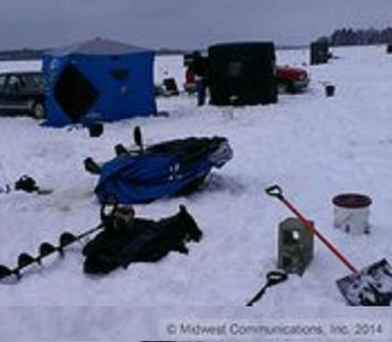 Perch pike and more are waiting for you news wtaq for Ice fishing clearance