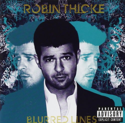 Blurred Lines Album Cover