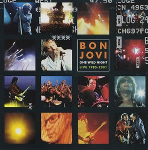 One Wild Night: Live 1985-2001 Album Cover