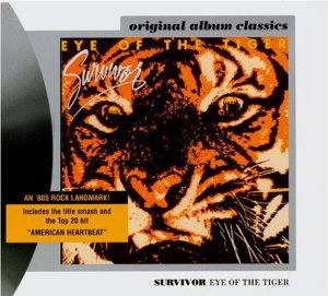 Eye of the Tiger Album Cover