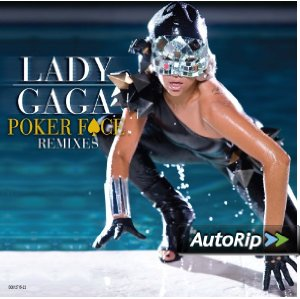Poker Face Remixes Album Cover