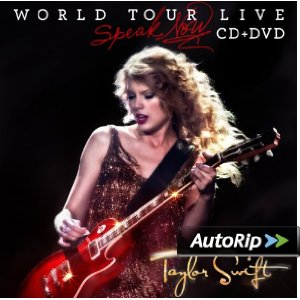 Speak Now - World Tour Live Album Cover