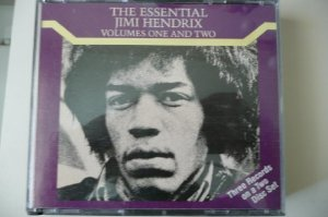 The Essential Jimi Hendrix, Volumes One and Two Album Cover